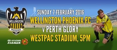 Hyundai A-League Football - Wellington Phoenix v Perth Glory