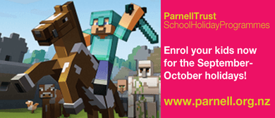 Gaming Day: Minecraft Day 2  - Parnell Trust School Holidays