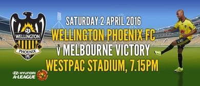 Hyundai A-League Football - Wellington Phoenix v Victory