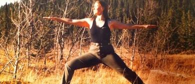 Be a Warrior, Not a Worrier Sunrise Yoga