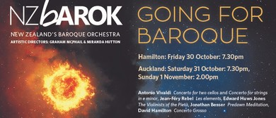 NZ Barok presents Going For Baroque