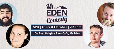 Mt Eden Comedy: Rhys Mathewson