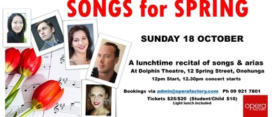 Songs for Spring - Lunchtime Concert
