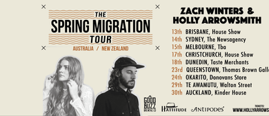 'The Spring Migration Tour' Holly Arrowsmith & Zach Winters