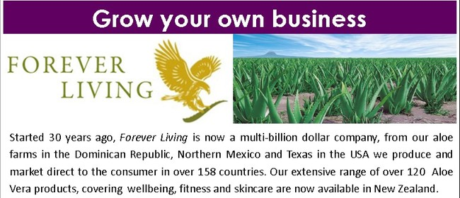 Forever Living Aloe Vera Products/Business Presentation