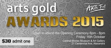 Arts Gold Awards VIP Opening