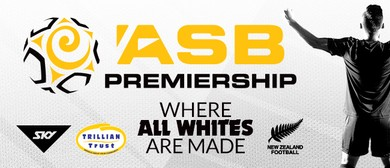 ASB Premiership - R5 Hawke's Bay United v Wellington Phoenix