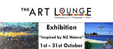 """Exhibition """" Inspired by NZ nature"""""""