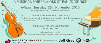 Musical Soiree Charity Evening for Dress for Success