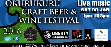 The Okurukuru Craft Beer & Wine Festival