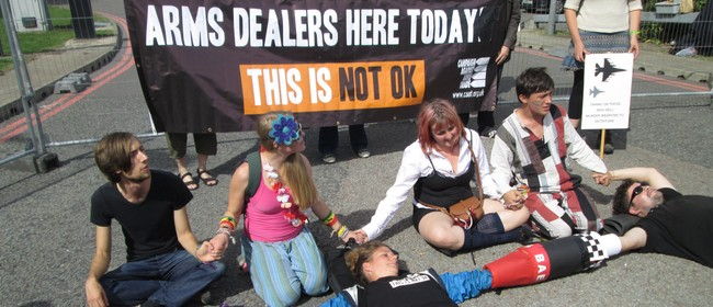 Nonviolent Direct Action Training for Weapons Conf Protest