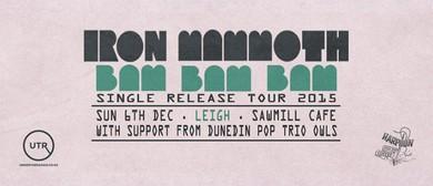 Iron MammotH Bam Bam Bam Single Release Tour