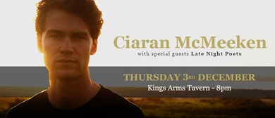 Ciaran McMeeken with Special Guests Late Night Poets