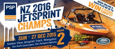 The PSP New Zealand Jetsprint Championship - Round 2