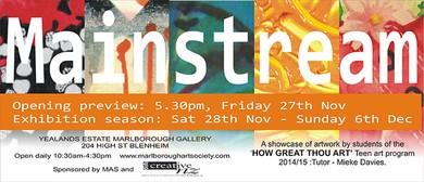 """Mainstream"" Teen Art Exhibition"