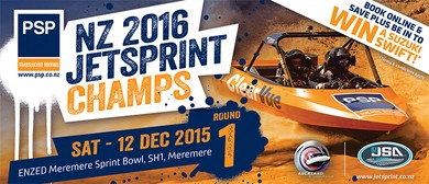 The PSP New Zealand Jetsprint Championship - Round 1