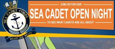 Sea Cadets Open Night
