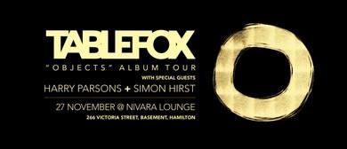 Tablefox 'Objects' Album Tour