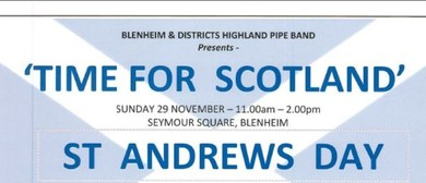 Time for Scotland - St Andrews Day