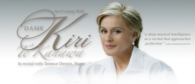 An Evening with Dame Kiri Te Kanawa