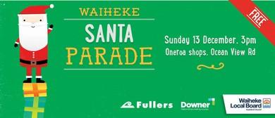 Waiheke Santa Parade