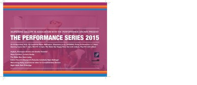 The Performance Series 2015