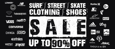 Surf | Street | Skate Clothing & Shoes Pop Up Sale