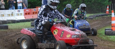 Lepperton Ride-On Lawnmower Racing