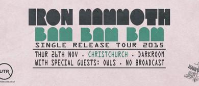 """Iron Mammoth """"Bam Bam Bam"""" Tour"""
