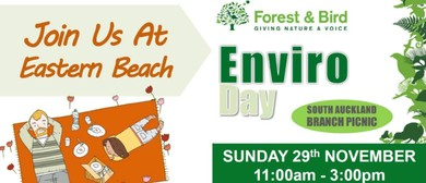 South Auckland Forest & Bird Enviro Day Picnic