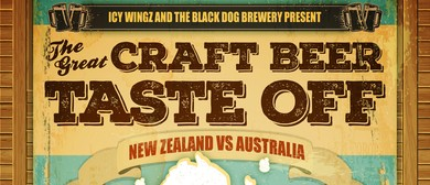The Great Craft Beer Taste Off - New Zealand v Australia