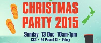 The Kiwiana Christmas Party