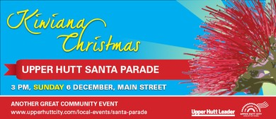 Kiwiana Christmas Santa Parade