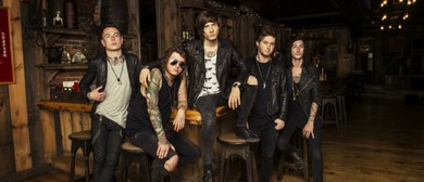 Asking Alexandria with special guests Blessthefall & Buried