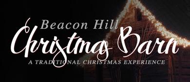 Beacon Hill Christmas Barn