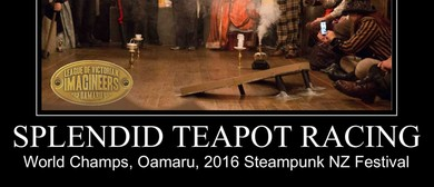 2016 Steampunk NZ Festival Teapot Racing World Champs