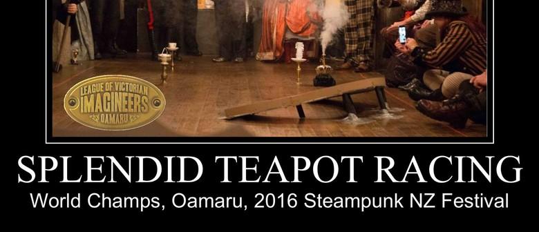 2016 Steampunk NZ Festival Teapot Racing World Champs