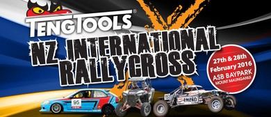 Teng Tools NZ International Rallycross