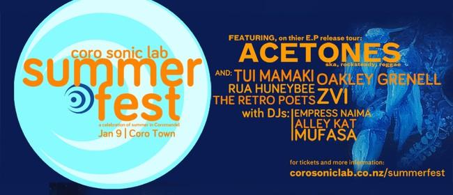 Coro Sonic Lab Summer Fest