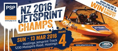 The 2016 PSP New Zealand Jetsprint Championship - Round 4