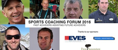 Sports Coaching Forum 2016