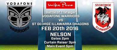 Vodafone Warriors vs St George Illawarra Dragons