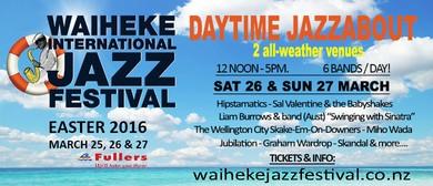 Waiheke International Jazz Festival - Daytime Jazzabout