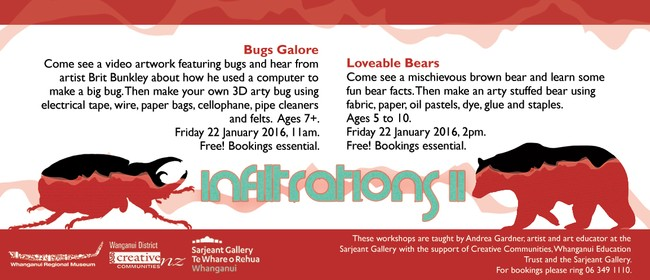 Art Workshops at the Museum - Loveable Bears