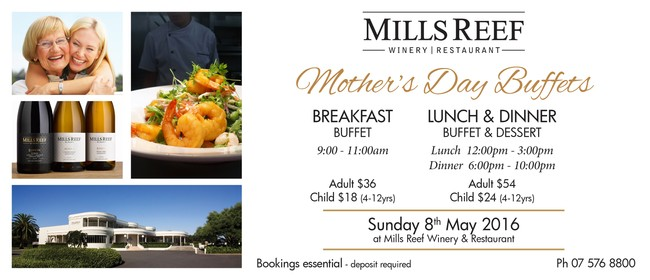 Mothers Day - Lunch or Dinner - Buffet Special