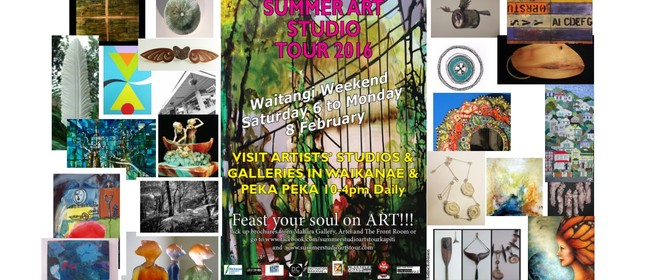 Summer Studio Arts Tour