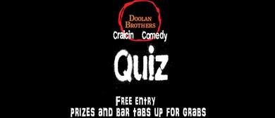 Doolan's Craicin' Quiz