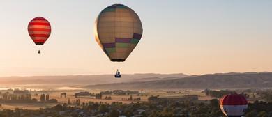 Wairarapa Balloon Festival - Meander over Martinborough