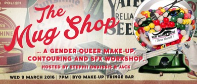The Mug Shop: A Gender-queer Make-up and SFX Workshop
