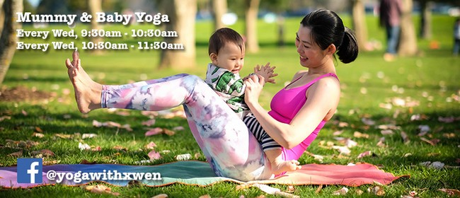 Mummy & Baby Yoga Class